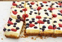 Cheese cake bars