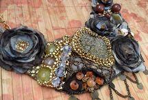 KOLIE NASZYJNIKI Mroczny KUFER SAnSI Rękodzieło Hand Made / KOLIE http://mrocznykufersansi.blogspot.com/