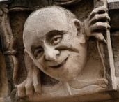 gargoyle, gnome, grotesque, golem, green man, griffin, gremlin / by Ardele Brooks