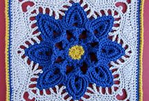 Beautiful Blocks - Crochet Collection / Do you love making Crochet block/squares??  Here are the most fabulous designs I have found around the crochet community!! / by Beatrice Ryan Designs