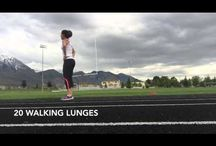 Beginner Running Workouts / Couch to 5K's, walking to running programs, and more.