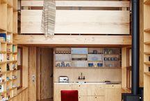 Shelter in wood - maison en bois