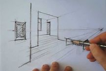 Perspective - dessin - drawing