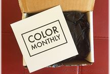 """LE COLOR MONTHLY / About: """"Totally wearable and on trend, COLOR MONTHLY sends you a new surprise polish and more every month."""" For full subscription box reviews, visit http://musthaveboxes.com."""