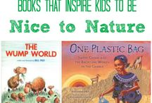 Books! / Books on STEM, oceans, water, science, and animals!