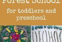 Forest School Nature Activities Preschool