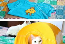DIY Cat Projects / DIY Projects to make for your feline friend