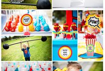 Superhero Party / Ideas for my son's 3rd Superhero Birthday Party