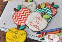 sugar cookies/ back to school/ teacher