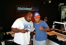 "Old School going ""Hollywood"" / Celebs hanging out with Old School 105.3"