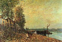 Alfred Sisley Gemälde