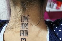 Love tatoos