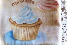 Cupcake homewares and decors.