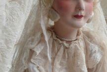 Francia boudoir babák