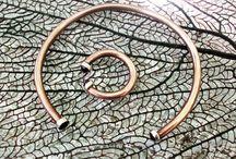 copper and garnet