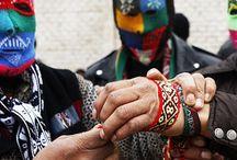 takanakuy / Una fiesta tradicional en los andes del Péru, donde los problemas y renconres se resuelven en peleas pactadas...