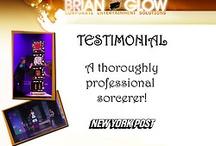 Testimonials for Brian Glow