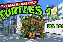 Turtles IV Turtles in Time [SNES] / Tartarugas Ninja 4 é um scrolling beat'em up lançado em 1992, para a Super Nintendo.