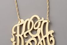 Just Monogram It / Anything & everything that can possibly be monogrammed  / by Tiffany Leiva