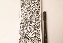 [art] Kawaii Doodles