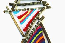 KIDS: Weaving, Sewing and Knitting / Weaving and knitting activities for children