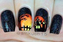 Körmök Halloweenre