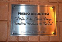Cerimônia de denominação do Prédio da Biblioteca, Profa. Dra. Maria Tereza Barbieri Bedran de Castro / Cerimônia de denominação do Prédio da Biblioteca Profa. Dra. Maria Tereza Barbieri Bedran de Castro, 22 de maio de 2012