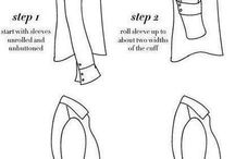 Styling tips / Secrets and handy tips for styling and combinability useful for everyday life and work