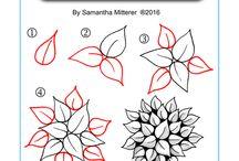 листья цветы