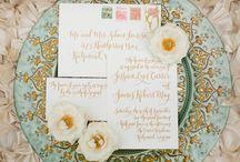 es wedding | rose gold wedding