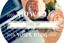 Blogging Tips / Blogging Tips, Photography Tips, Social Media, Blogging, Blog Promotion and Blog Post Ideas <3