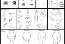 Faces / How to draw faces,face references. Hope it might be helpful :)  None of the content is mine