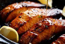 Butter Hone Garlic Salmon