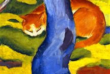 Expressionism at the Museum of  Cat Art  / by Cat Museum