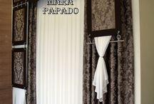 Διακόσμηση σπιτιού με κουρτίνες / ΚΟΥΡΤΙΝΕΣ-ΣΧΕΔΙΑ