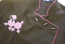 #Spa Salon (Dogs & Hair) / #some designs for #tunics and #tabards for those #salons and spas,