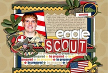 Eagle scout stuff / by Margaret Powell