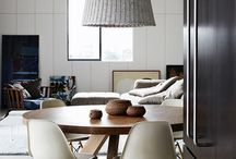 Contemporary chic / Minimalist, clean lines, uncluttered spaces. Monochromatic schemes with vivid accents to add interest