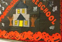 Halloween Bulletin boards / by Amanda McRoy