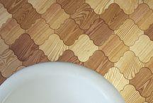 Pattern - płytki parkietowe / Wooden parquet tiles by dudzisz wood and floor.