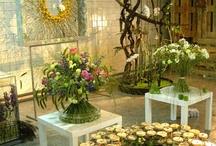 Gėlių studija-galerija-parduotuvės interjeras / by Pūkuotas Vėjas gėlių namai