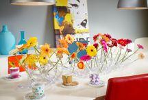 Florale Tisch-Dekorationen