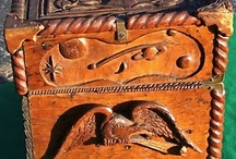 Woodcarving..