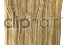 Clip In Hair Extensions / Add volume or length to your existing hair by using quality, full head clip in hair extension sets to give you the look you want to achieve with real human hair, designed to suit your hair.  Straighten or curl these durable hair extensions to achieve the look and style you are seeking. These easy to care for extensions are available in a wide range of colours and lengths and are quick to clip in, as they come with clips already attached.  Just in 5 minutes, you will have the hair you wanted  / by Cliphair Hair