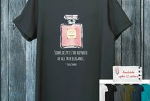 Fashion lovers t-shirts / T-Shirts for Fashion lovers.  Available at https://www.etsy.com/shop/wine4mankind