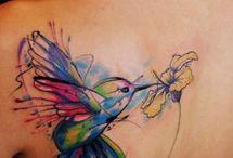 Watercolor tattoo = art