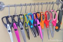 Papercraft tools and supply storage