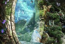 Гора водопадов Элюминаций