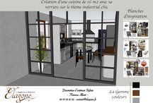 Mes modélisations / Ce tableau est un book de toutes mes modélisations faites pour mes clients. Des meubles créés sur mesure, des visuels 3D pour partager une idée Déco potentielle ou réelle, etc !