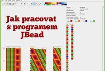 práce v programu JBead
